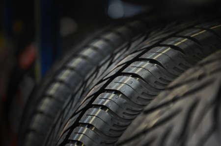 The tire tread  Conceptual background Banco de Imagens - 14088247