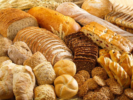 Arrangement with bakery products photo