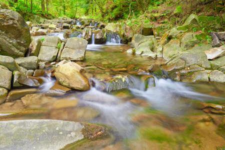 The Zaskalnik Waterfall in the Pieniny Mountains Range  Amazing nature reserve