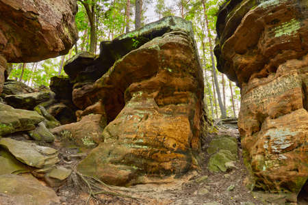 Beauty of Earth  Old Hell Rocks near Nieklan, Poland  Amazing geological features reserve
