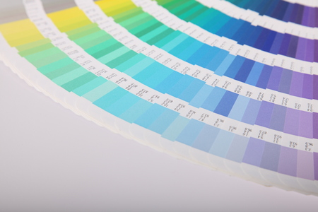 color scale: Pantone color scale