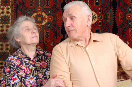 Seventy year old couple Stock Photo - 4216063