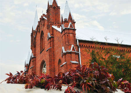 catolic: view of catolic castle