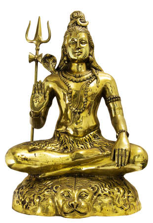 god figure: Shiva , God of power