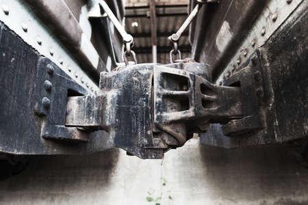 railway track: Train connector