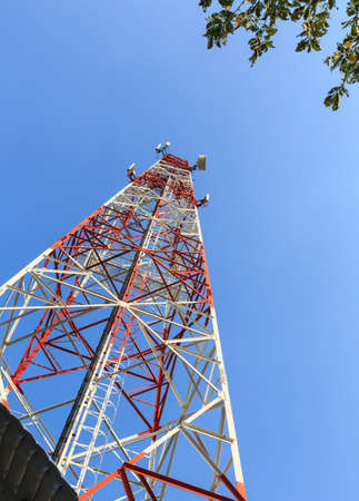 transmitter: Communication tower
