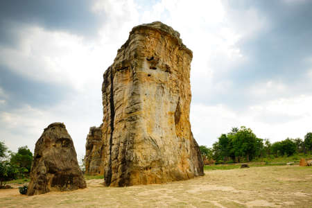 rituals: Stonehenge of Thailand (Mo Hin khao) at Chaiyaphum province Thailand