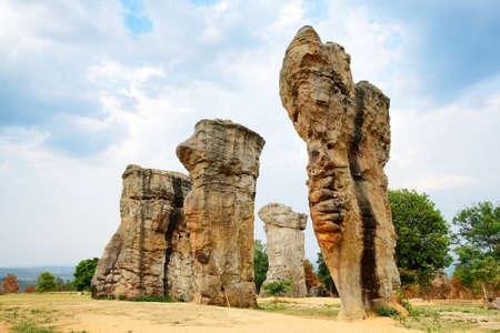 mococa: Stonehenge of Thailand (Mo Hin khao) at Chaiyaphum province Thailand