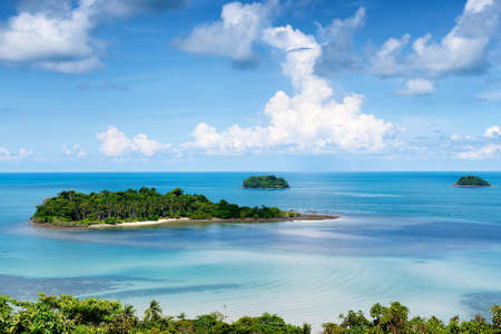 Chang tropical islands, Trat archipelago in Thailand