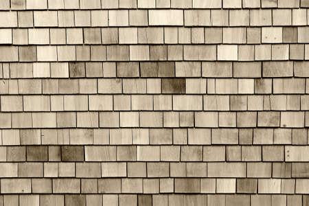 cedar: Wood roofing pattern detail