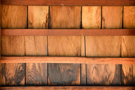 Wood roofing pattern detail photo