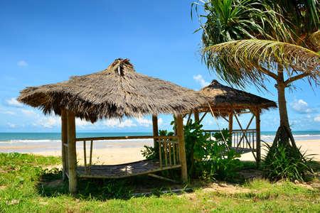 Cabana de praia na praia Tail Banco de Imagens
