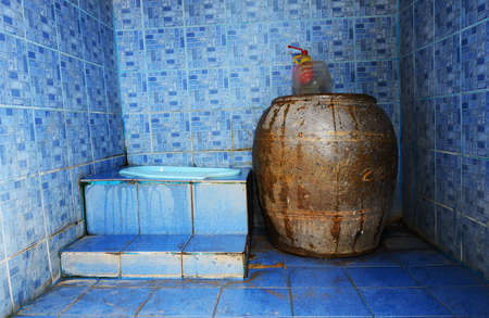 Thai traditional old toilet Stock Photo - 22063046
