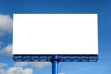 Blank billboard bereit für neue Anzeige Standard-Bild - 22063050