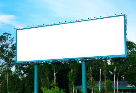 Blank billboard pronto para novo an�ncio
