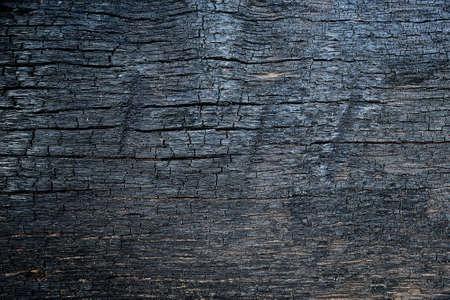 Verbrand houtstructuur Stockfoto