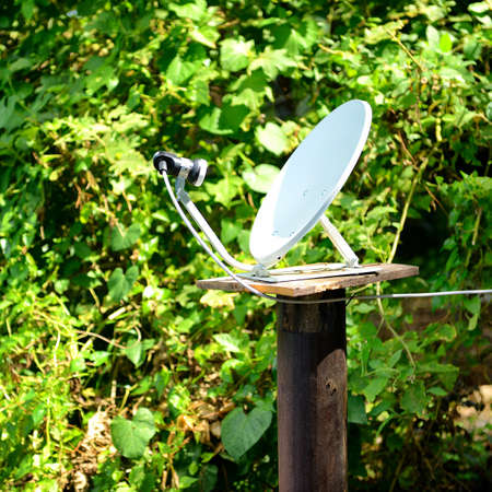 Satellite dish antenna photo