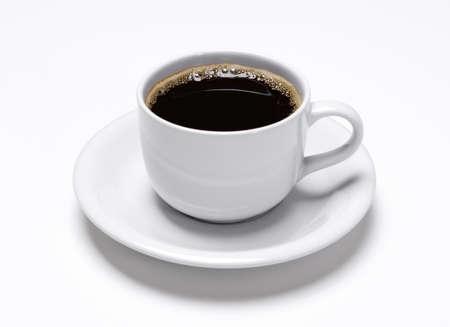 planta de cafe: Copa del caf? aislada sobre fondo blanco