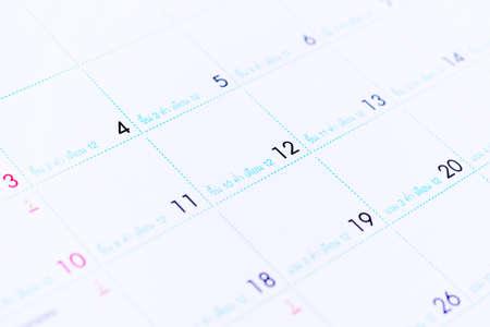 annual events: Calendar Stock Photo