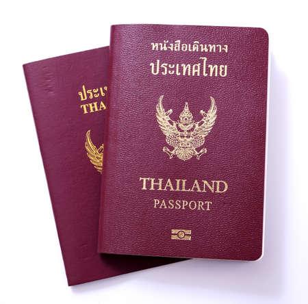 Passaporte de Tail Banco de Imagens