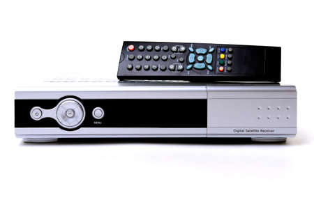 Receiver for satellite and remote control Standard-Bild