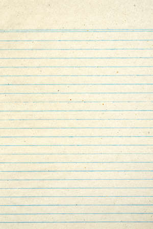 old school: Vintage grungy lined paper
