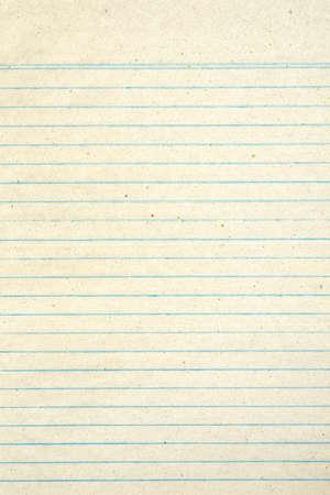 Vintage papel forrado grungy Foto de archivo - 22180140