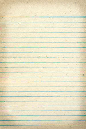 Vintage grungy lined paper Stock Photo - 22131955