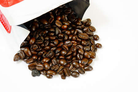 Coffee beans with package