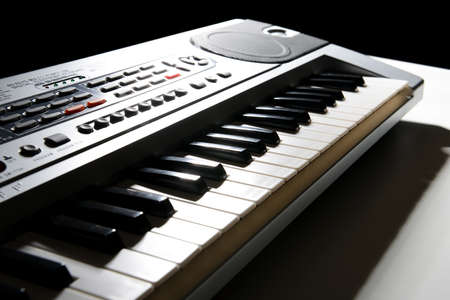 bender: Electronic keyboard Stock Photo