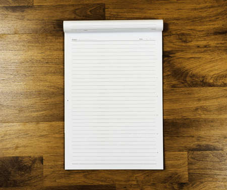 Note paper on wooden board