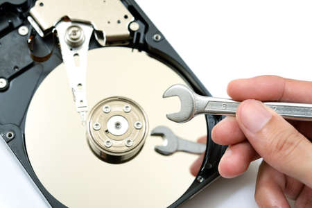 Repair and check hard disk problem