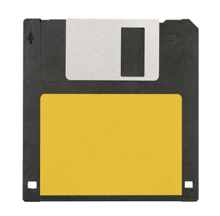 Floppy disk magnetic computer data storage