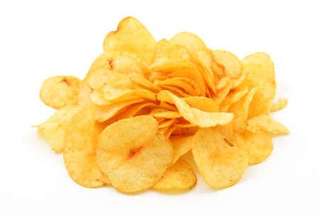 greasy: Potato chips