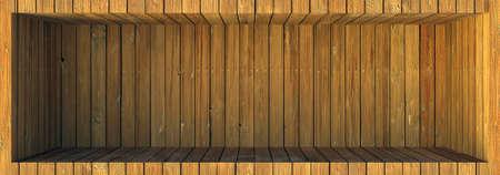 wooden shelves: Wooden shelves