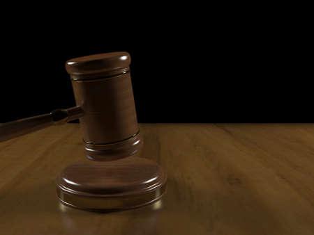 juror: court gavel