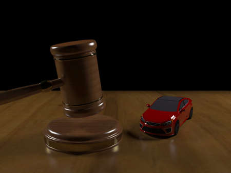 proceedings: Judicial proceedings for a car