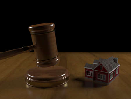 Judicial proceedings for a house