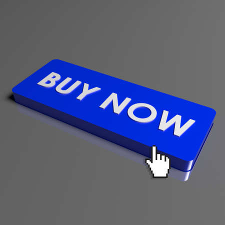 buy shares: Button Buy Now on keyboard Stock Photo