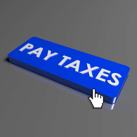 button PAY TAXES on the keyboard