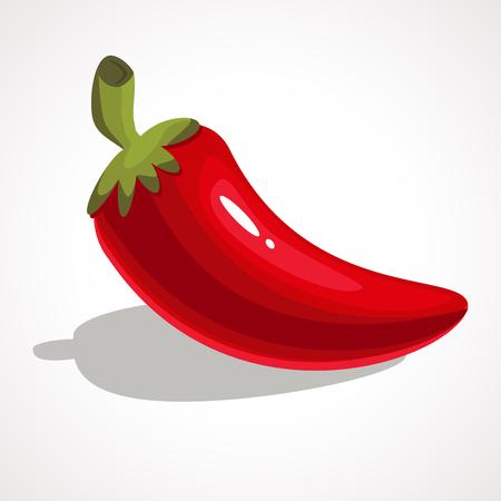 赤唐辛子  イラスト・ベクター素材