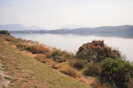 riverbank: Peaceful Han riverbank