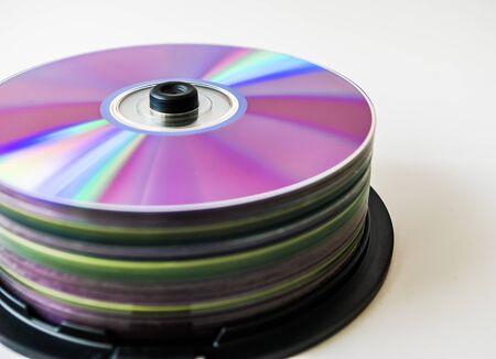 discs: Lots of colorful discs