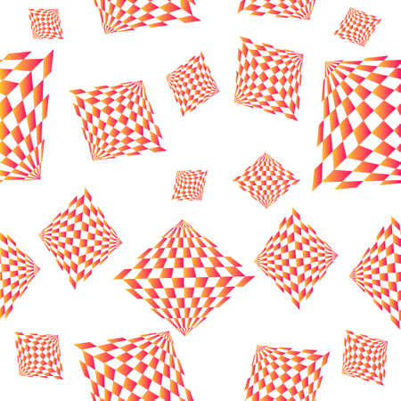 Pattern of geometric shapes.Texture with flow of spectrum effect. Geometric background. Copy that square to the side, the resulting image can be repeated, or tiled, without visible seams.