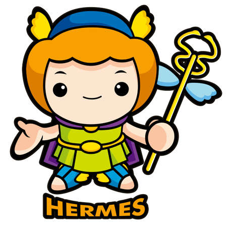 The god of strangers, Hermes Vector
