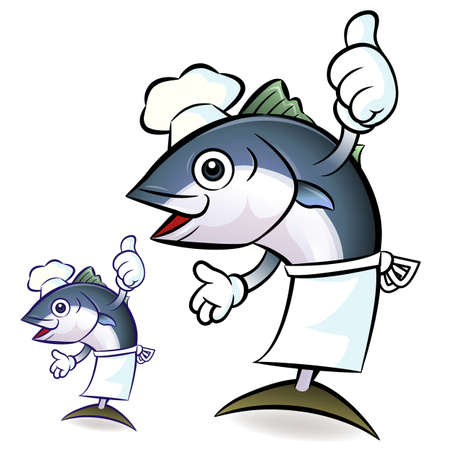 The Best Tuna Chef, Tuna Character Vector