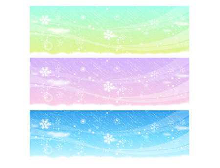 Beautiful backdrop of the winter design  Winter Season background Series  Vector