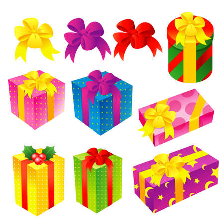 A wide variety of Gifts Icons sets  Creative Icon Design Series  Stock Vector - 16938741