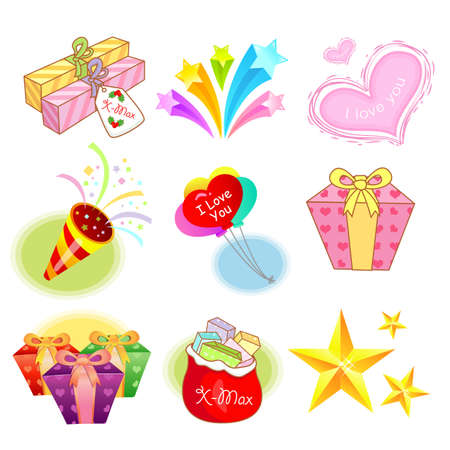 Various events related icon sets  Creative Icon Design Series  Stock Vector - 16938778