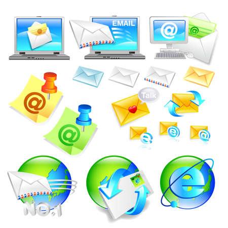 Internet business Icon sets  Creative Icon Design Series  Stock Vector - 17183063